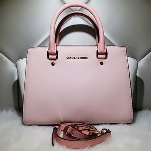 Michael Kors Pink Color-Block Selma.